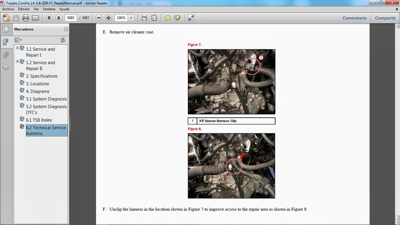 2014 Toyota Corolla Service Manual Pdf 2013 Fuse Diagram Camry Owners Wiring