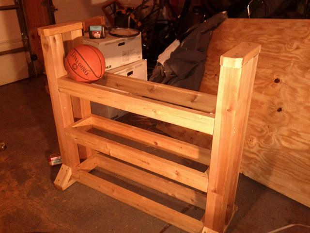 Diy Basketball Rack Cart