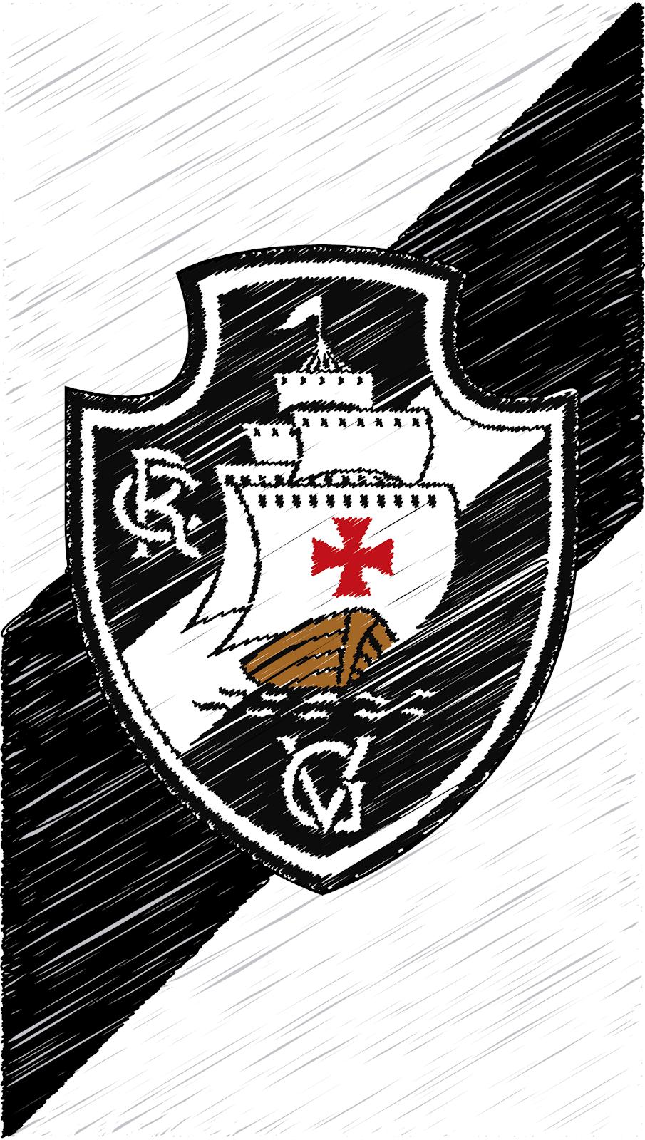 Baixar Wallpaper Para Celular Gratis Vasco Da Gama Rabiscado