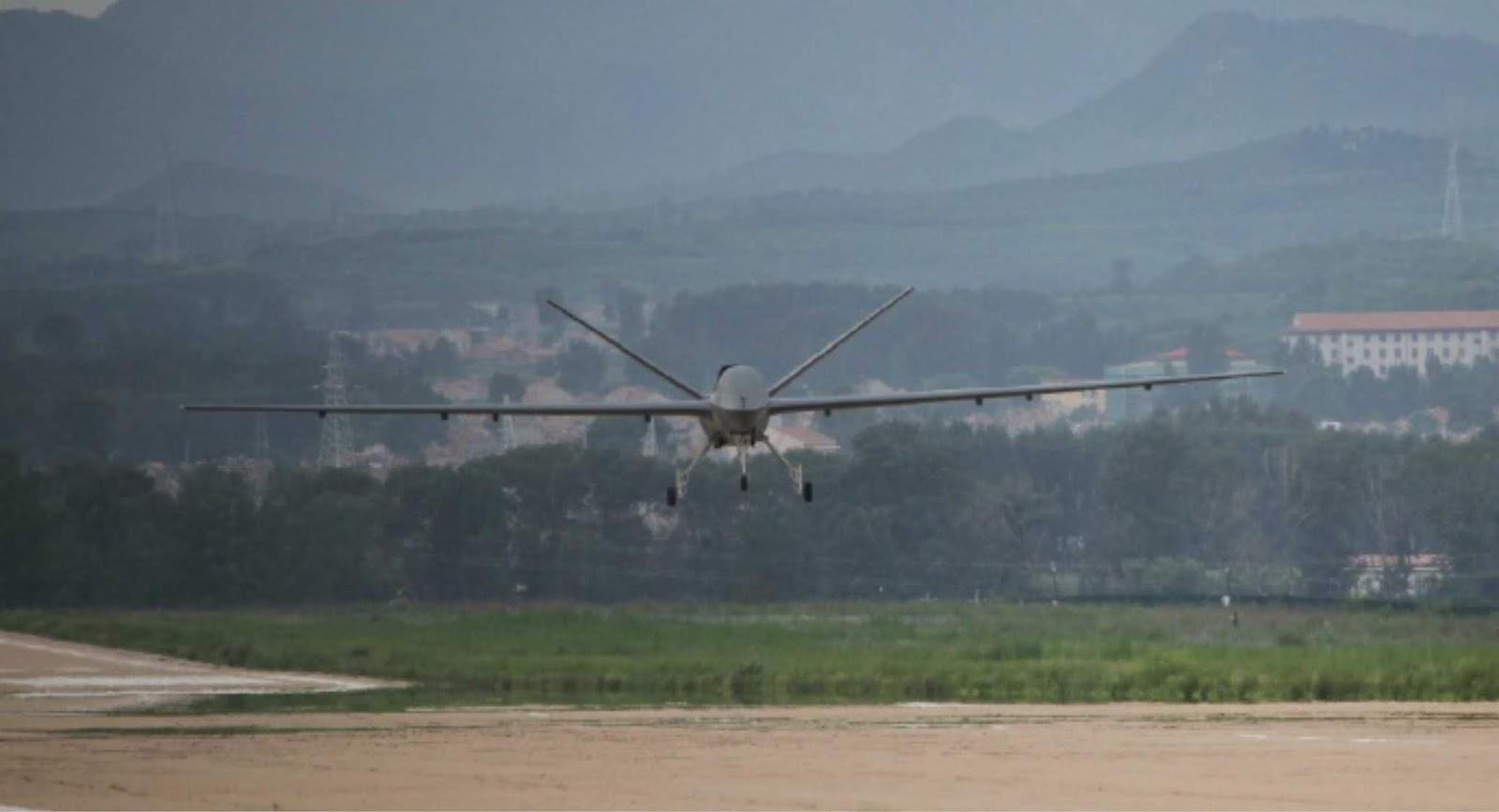 Video Tes UAV Tsaihun-5 menghantam target dengan rudal AR-1