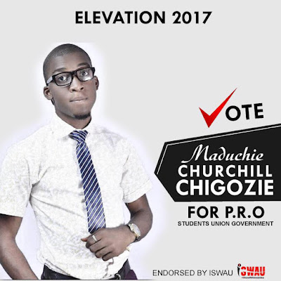 Churchill Chiagozie Emerges Winner of NAU SUG PRO 2017/2018