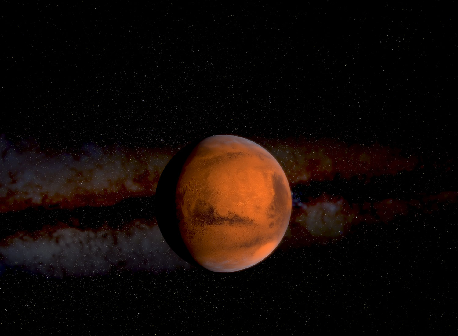 Mars planet is Red Planet: Why? ~ UNIVERSE