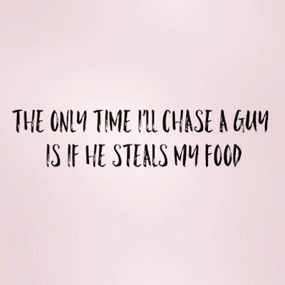Don't take food
