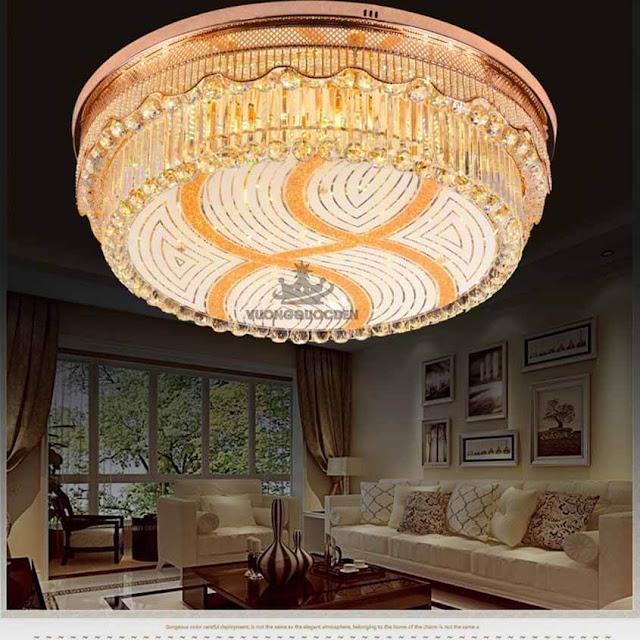 Chia sẻ cách chọn đèn ốp trần trang trí giúp gia chủ thêm thịnh vượng