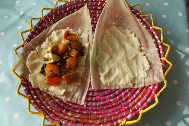 tamales from scratch,  msmarmitelover's Frida Kahlo supperclub