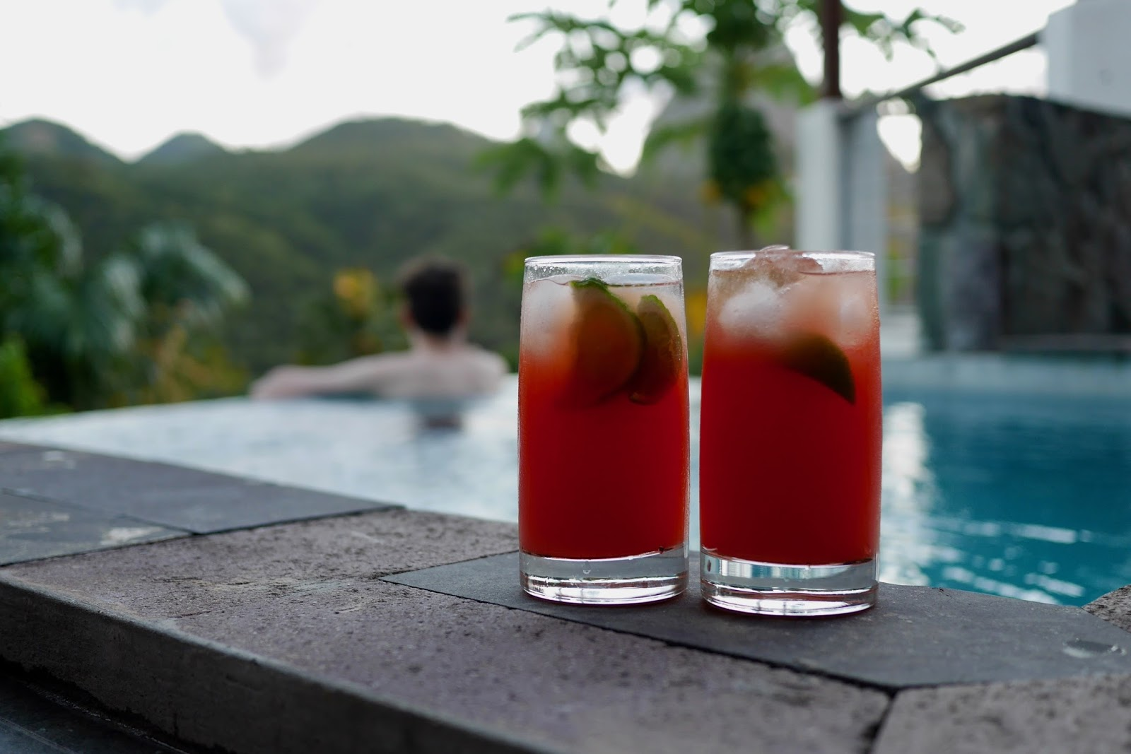 Infinity pool in St Lucia, Soufrière, St Lucia by www.CalMcTravels.com