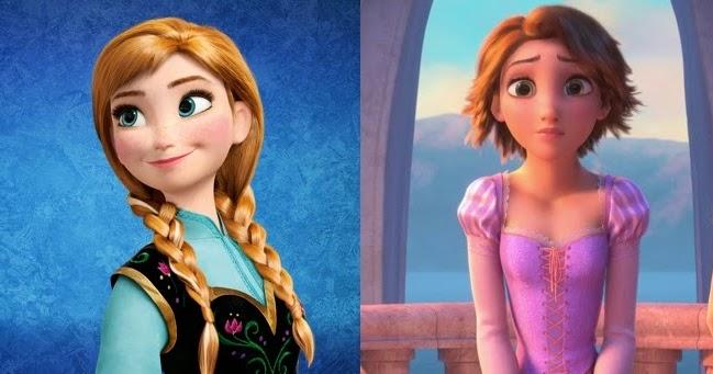 The Wild Blog in the West: Disney Debate: Tangled Versus Frozen
