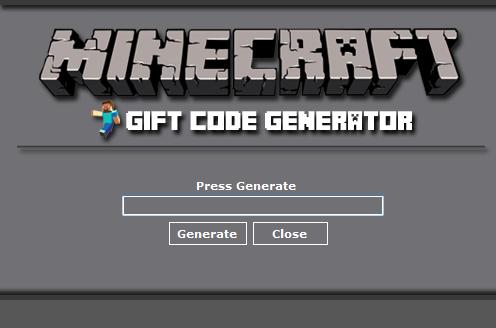 Minecraft Gift Code Generator No Survey - Zine Hacks