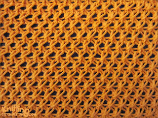 Cell lace stitch  |   Easy-made pattern