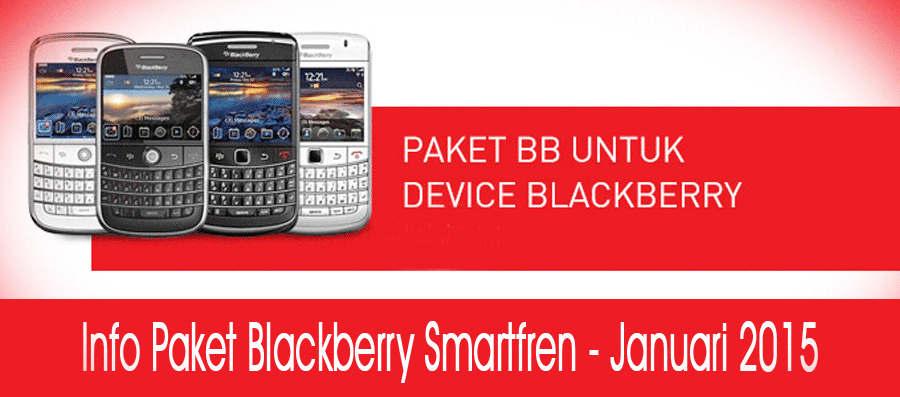 Info Paket Blackberry Smartfren