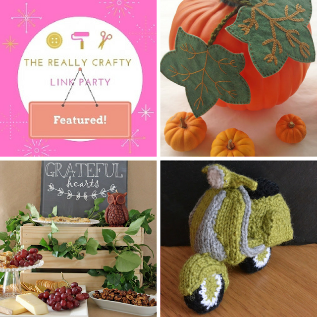 The Really Crafty Link Party #92 featured posts