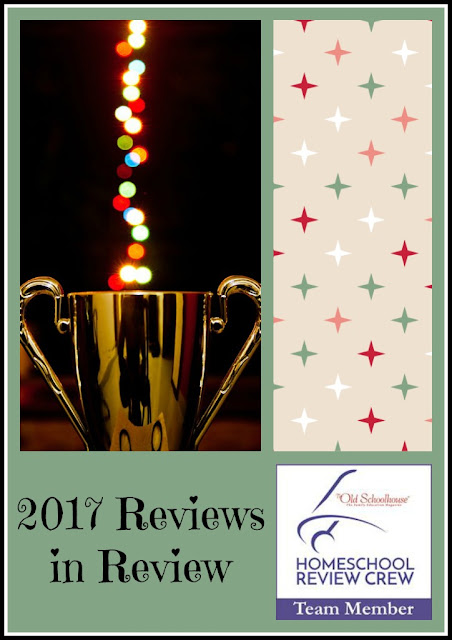2017 Reviews in Review  on Homeschool Coffee Break @ kympossibleblog.blogspot.com