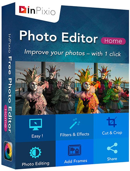 InPixio Photo Editor 1.6.0 poster box cover