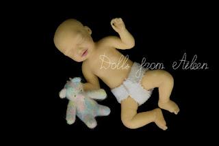 OOAK Mini Baby Doll