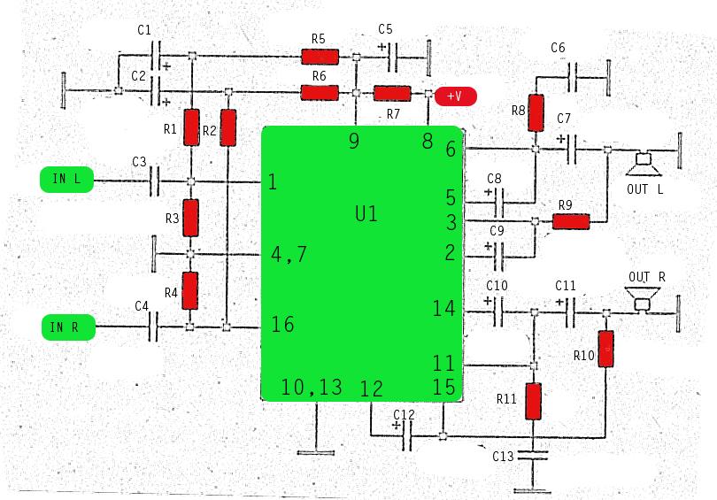 stk013 amplifier circuit power amplifier rh ampcircuitdiagram xyz Amplifier Circuit Board Circuit Amplifier Symbol
