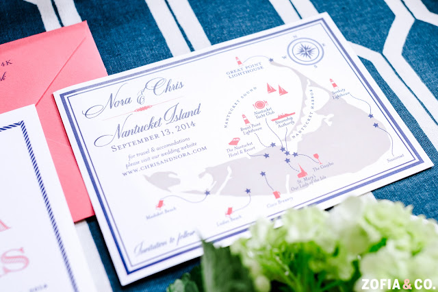 Nantucket Wedding Save the Date