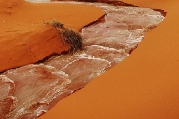 Heboh.. Mengalirnya Sungai di Gurun Tandus Arab, Tanda Akhir Zaman