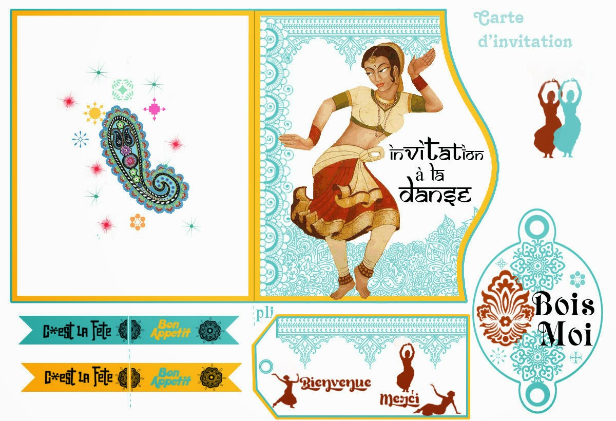 Bollywood: Free Printables. | Oh My Fiesta! in english