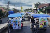 Polres Aceh Singkil Bersama Forkopimda Kampanye Penggunaan Masker