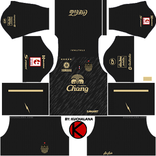 Buriram United 2017 -  Dream League Soccer Kits