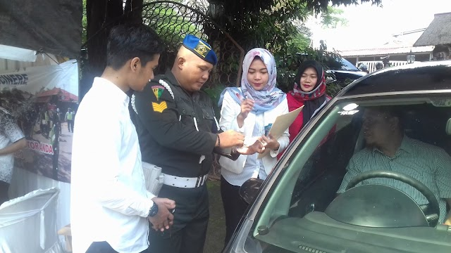 Operasi Gabungan Samsat Cinere Libatkan Abang Mpok Depok