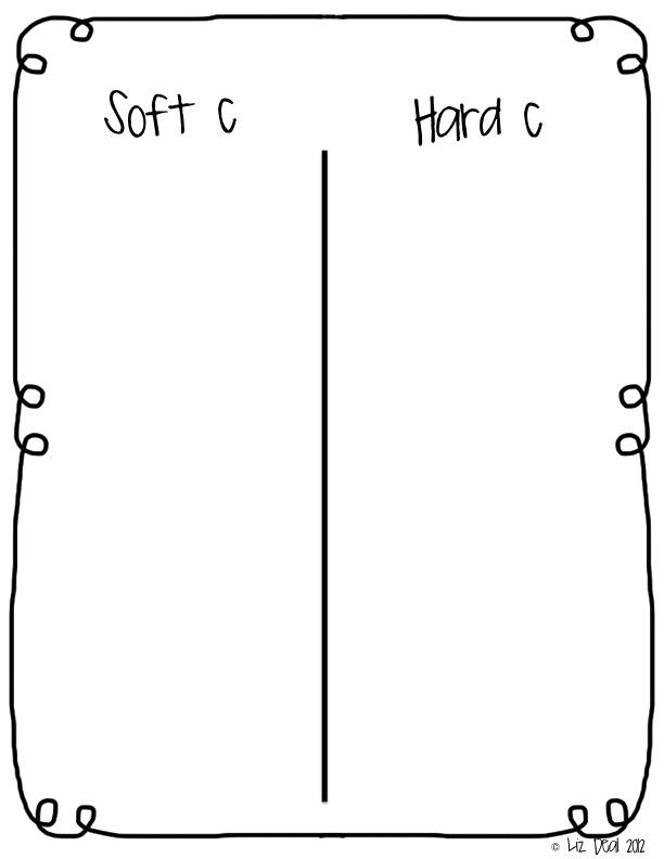 Printable Worksheets soft and hard g worksheets : Polka Dot Firsties: Hard & Soft C & G