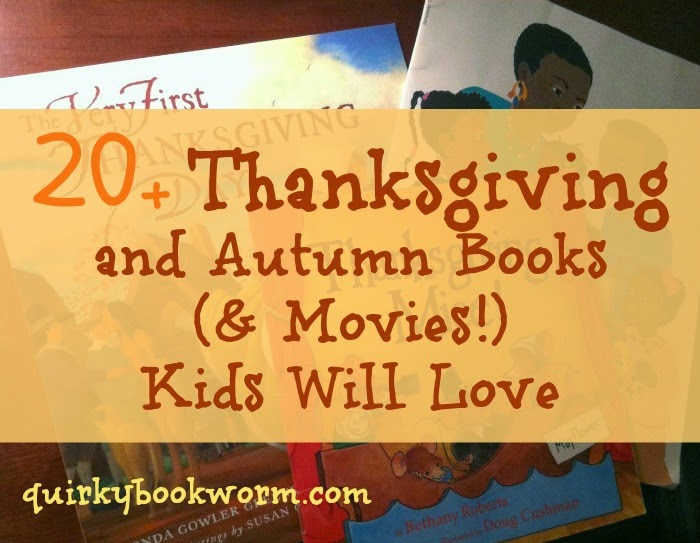 Thanksgiving and Autumn Books Kids Will Love - picture books like Pete the Cat and Curious George, plus easy readers about Pilgrims and more.