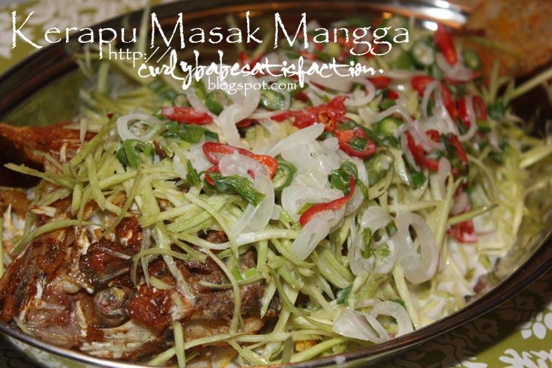 resepi ikan kerapu mangga pewarna Resepi Ikan Yu Bakar Enak dan Mudah