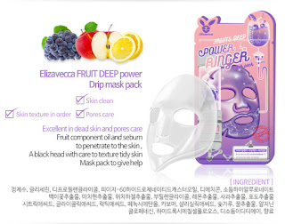 Elizavecca Power Ringer Mask Pack - Fruits Deep