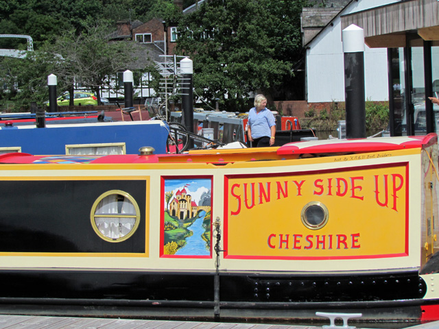Sunnyside Up Boat Cheshire