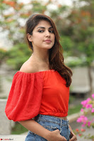 Rhea Chakraborty in Red Crop Top and Denim Shorts Spicy Pics ~  Exclusive 134.JPG