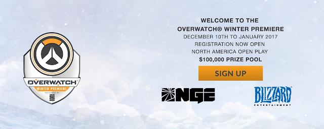 Overwatch Winter Premiere saca pecho con sus premios, un valor de 100.00 dólares