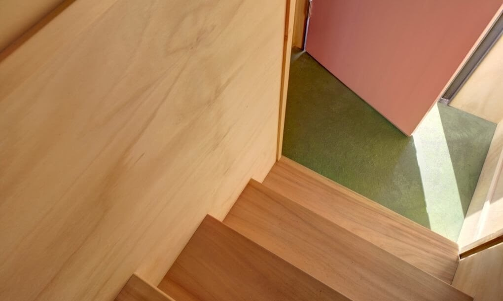 12-Stairs-to-the-Entrance-M-W-Architects-Sustainable-Architecture-with-the-Garage-Top-Studio-www-designstack-co