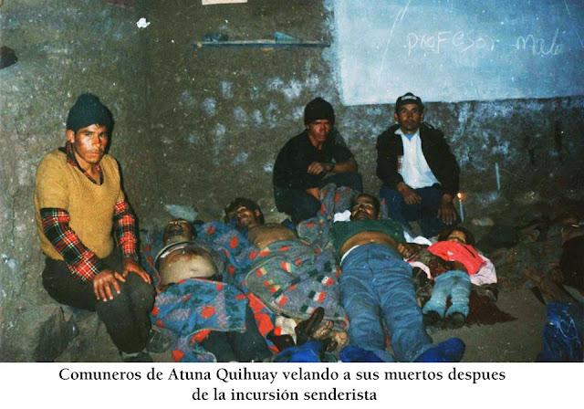 Los crímenes de Sendero Luminoso en Atuna Quihuay - Huancavelica