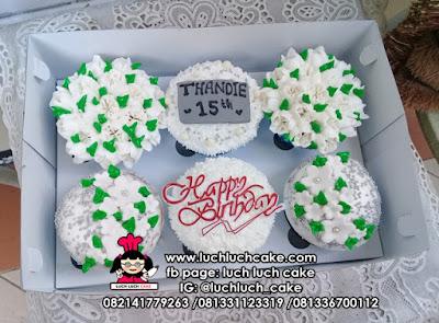Cupcake Bunga Buttercream Cantik