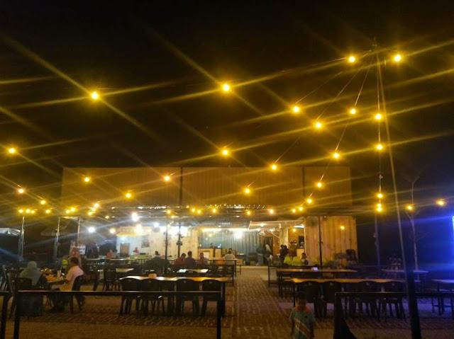 Makan Malam Di Restoran Sakura Cabin Batang Kali