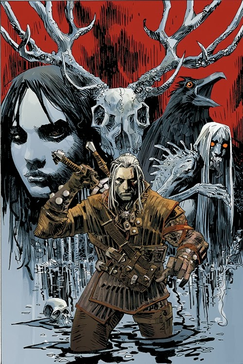 Press Release - NYCC: Dark Horse to Publish The Witcher!