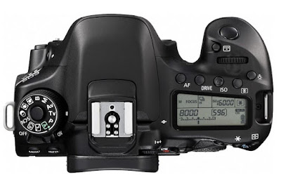 Canon EOS 80D Top View