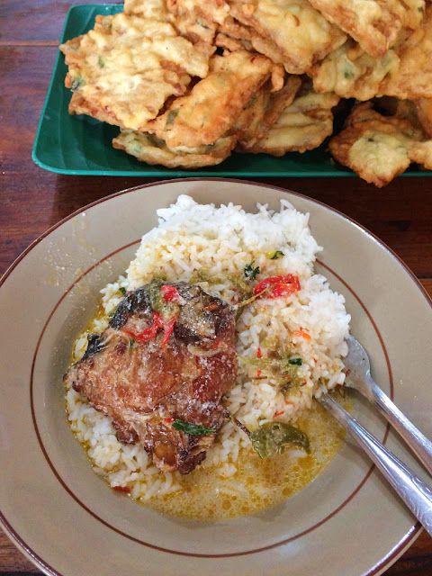 mangut pari warung makan mbak ping
