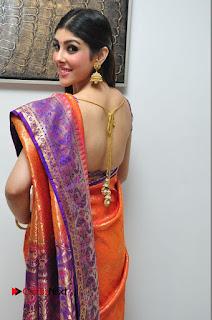 Aditi Singh Pictures in Saree at Kalamandir 6th Anniversary Celebrations  0050