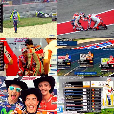 Kronologi Jalannya Race MotoGP Austin, Amerika 2016