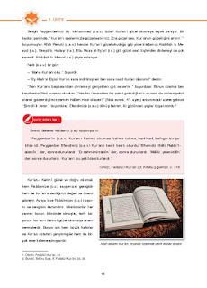 6. Sınıf Kuranı Kerim Ders Kitabı Cevapları Dikey Yayınları Sayfa 16