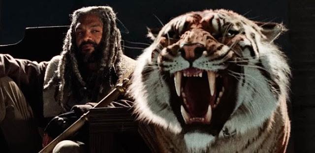 Ezekiel y Shiva, nuevos protagonistas en The Walking Dead