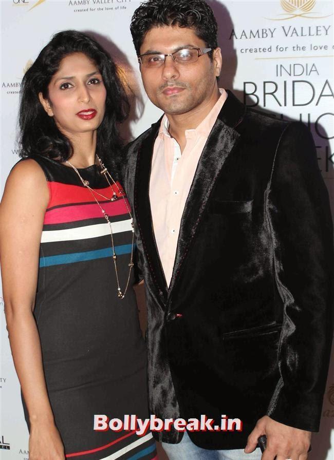 Reshma and Riyaz Gangji