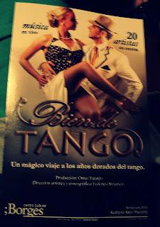 Tango no Centro Cultural Borges, nas Galerias Pacífico, Buenos Aires