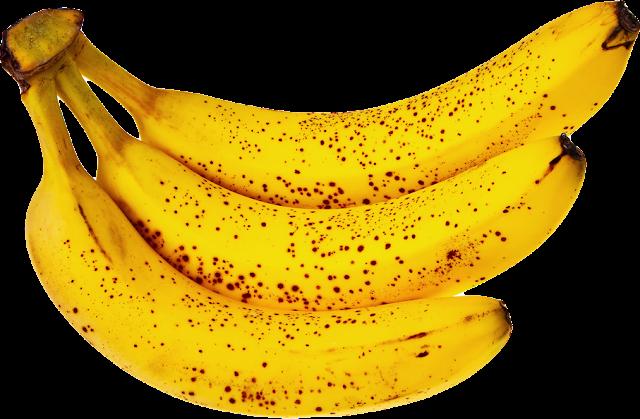 3 - Bananes - Jaunes - Mures -