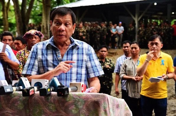 Duterte lifts truce after no response from communist insurgents