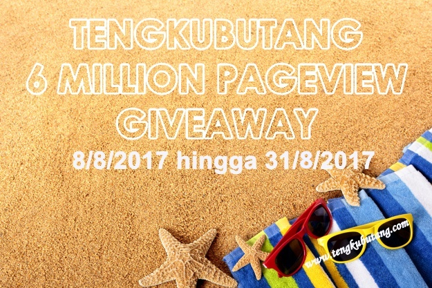TENGKUBUTANG 6 MILLION PAGEVIEW GIVEAWAY