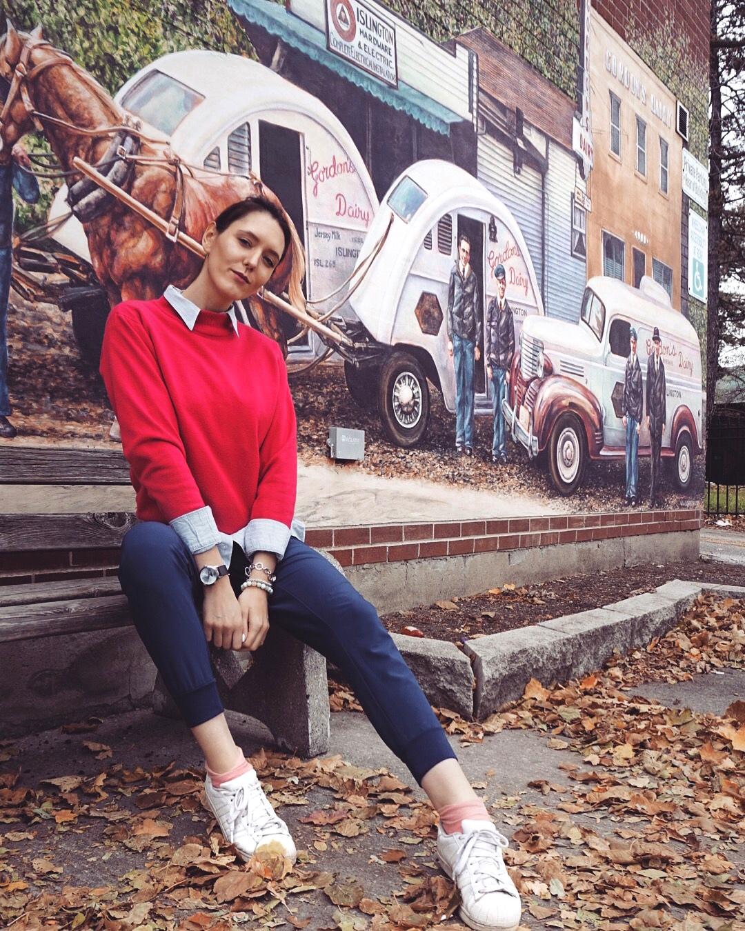 Pink Sweater OOTD
