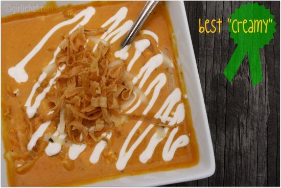 Creamy Tortilla Soup